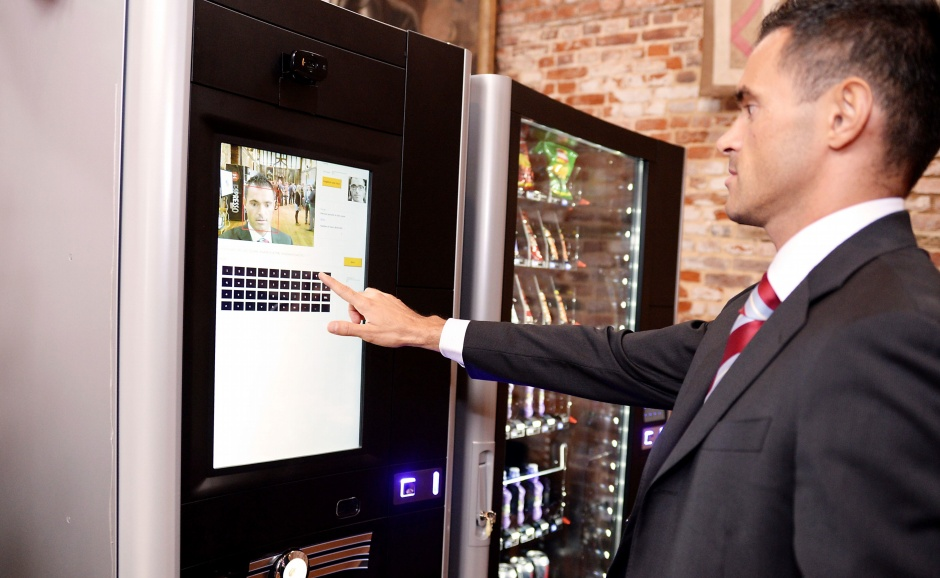 Smart-Vend-Solutions-facial-recognition-vending-machine-in-use
